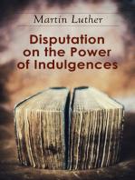 Disputation on the Power of Indulgences