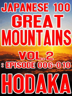 Japanese 100 Great Mountains Vol.2