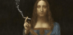 Why Does Da Vinci's Jesus Look So. . . Stoned?