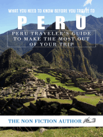 What You Need to Know Before You Travel to Peru