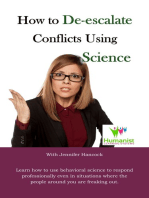 How to De-Escalate Conflicts Using Behavioral Science