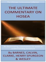 The Ultimate Commentary On Hosea