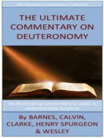 The Ultimate Commentary On Deuteronomy