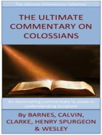 The Ultimate Commentary On Colossians