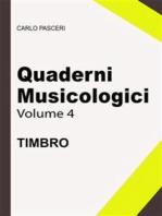 Quaderni Musicologici - Timbro