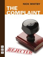 The Complaint (NHB Modern Plays)