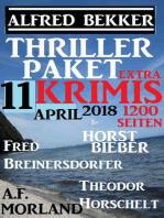 Thriller-Paket 11 Extra Krimis April 2018