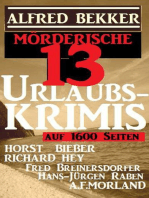 Mörderische 13 Urlaubs-Krimis auf 1600 Seiten