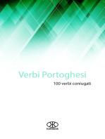 Verbi portoghesi (100 verbi coniugati)
