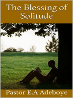 The Blessing of Solitude