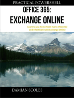 Practical Powershell Office 365 Exchange Online Learn to Use Powershell More Efficiently and Effectively With Exchange Online