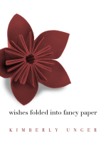Wishes Folded into Fancy Paper