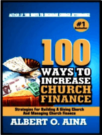 100 Ways To Increase Church Finance