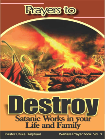 Prayers to destroy Satanic works in your Life and Family