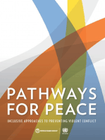 Pathways for Peace: Inclusive Approaches to Preventing Violent Conflict