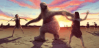 Our Bravest Ancestors May Have Hunted Giant Sloths