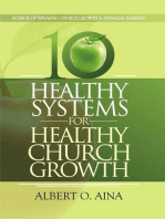 Healthy Systems For Healthy Church Growth