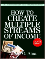 How To Create Multiple Streams Of Income