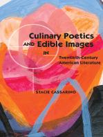 Culinary Poetics and Edible Images in Twentieth-Century American Literature