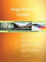 Single Point Of Contact Standard Requirements
