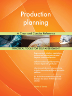 Production planning A Clear and Concise Reference