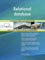 Relational database Complete Self-Assessment Guide