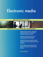 Electronic media Standard Requirements