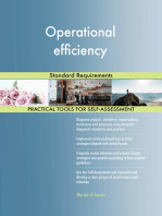 Operational efficiency Standard Requirements
