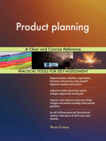 Product planning A Clear and Concise Reference