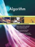 Algorithm Standard Requirements