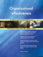 Organizational effectiveness A Clear and Concise Reference