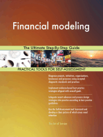 Financial modeling The Ultimate Step-By-Step Guide