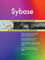 Sybase Complete Self-Assessment Guide
