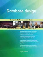 Database design Complete Self-Assessment Guide