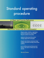 Standard operating procedure A Clear and Concise Reference