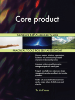 Core product Complete Self-Assessment Guide