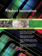 Product innovation Complete Self-Assessment Guide