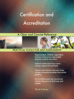 Certification and Accreditation A Clear and Concise Reference