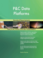 P&C Data Platforms Standard Requirements