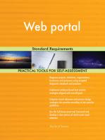 Web portal Standard Requirements