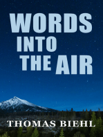 Words into the Air