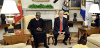 Nigerians Praise, Pan And Poke Fun At Their President's Meeting With Trump