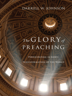 The Glory of Preaching