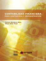 Contabilidad financiera para contaduría y administración
