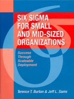 Six Sigma for Small and Mid-Sized Organizations