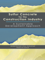 Sulfur Concrete for the Construction Industry: A Sustainable Development Approach