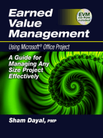 Earned Value Management Using Microsoft® Office Project