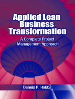 Applied Lean Business Transformation: A Complete Project Management Approach