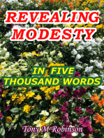 Revealing Modesty in Five Thousand Words