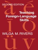 Teaching Foreign Language Skills Rev Ed